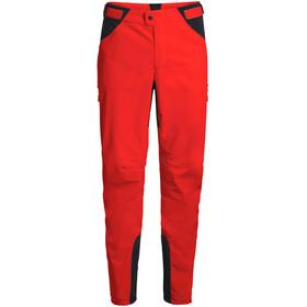 VAUDE Qimsa II Softshell Pants Men mars red